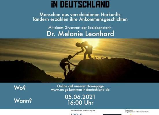 Einladung für die Veranstaltung Angekommen in Deutschland