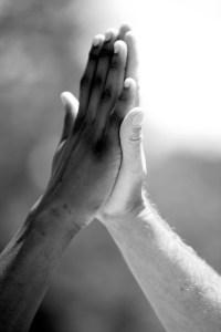 Shutterstock Praying Hands