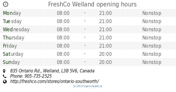 Freshco Open Canada Day