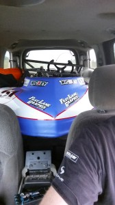 Taking the Kart to Lost Valley Raceway in Alma, Arkansas