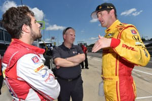 Carlos Munoz and Ryan Hunter-Reay