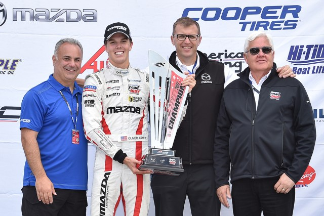 Oliver Askew wins the 2017 USF2000 Championship