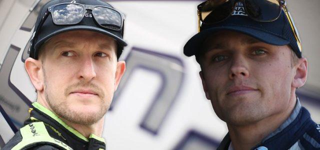 Carlin Racing drivers Charlie Kimball and Max Chilton