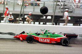Adrian Fernandez crash