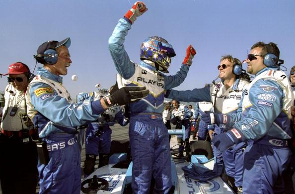 Greg Moore wins the 1998 U.S. 500