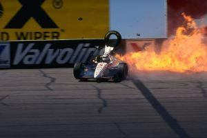 Mansell accident at Phoenix.