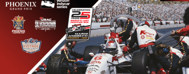 Mario Andretti's 25th Anniversary of Final Win