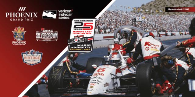 Mario Andretti's 25th Anniversary of Final Win