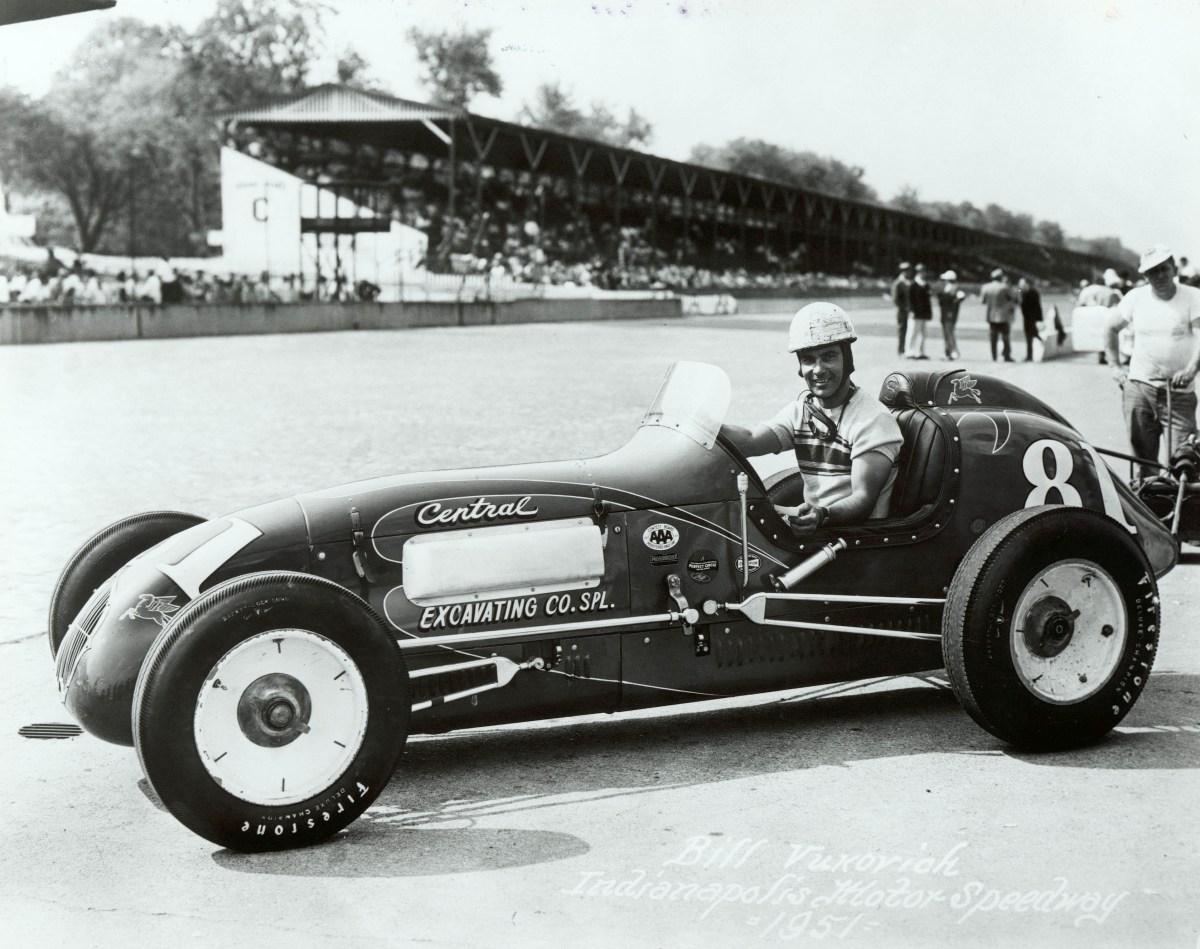 Bill Vukovich in 1951.