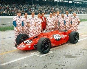 Parnelli Jones' 1967 Indianapolis 500 turbine car.