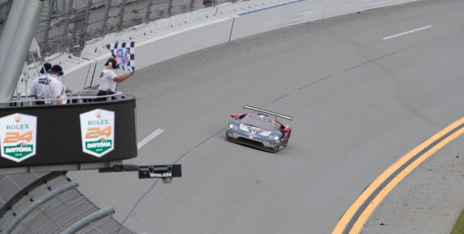 Ford Chip Ganassi wins the GT Le Mans class of the 2018 Rolex 24 at Daytona