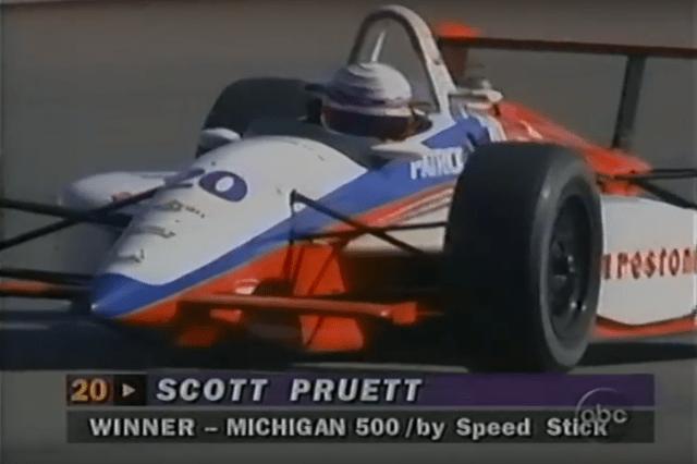 Scott Pruett wins at Michigan 1995