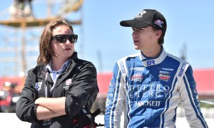 George Michael Steinbrenner IV and Colton Herta