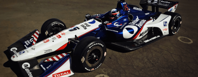 Graham Rahal's 2018 United Rentals car