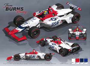 Conor Daly's 2018 Indy car.