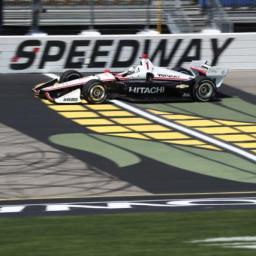 Newgarden Paces Final Practice at Iowa