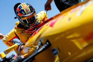 Hunter-Reay fastest in second Mid-Ohio practice