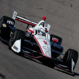 Newgarden Leads First Iowa Practice