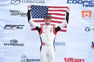Kyle Kirkwood seals USF2000 title with three victories at Mid-Ohio