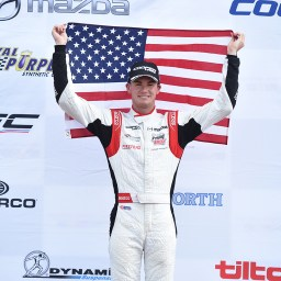 Kyle Kirkwood seals USF2000 title with three victories at Mid-Ohio