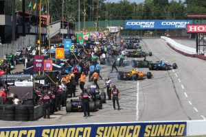 Exciting Mid-Ohio start on deck after IndyCar qualifying mayhem