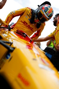 Hunter-Reay Tops First Practice in Sonoma as Rossi Struggles
