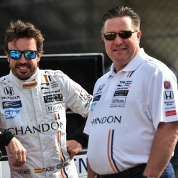Brown: McLaren not full-time in IndyCar for 2019; Indy 500 still possible