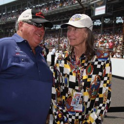 IndyCar community pay their respects to Mari Hulman George