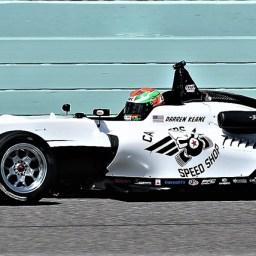 Keane leads the way in final USF2000 offseason test