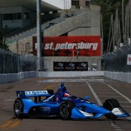 Rookie Felix Rosenqvist fastest in opening St. Petersburg practice