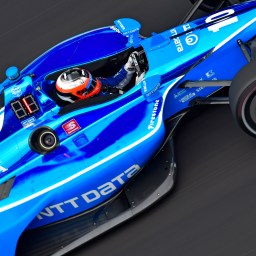 Rosenqvist emerges from wild INDYCAR Grand Prix qualifications with pole