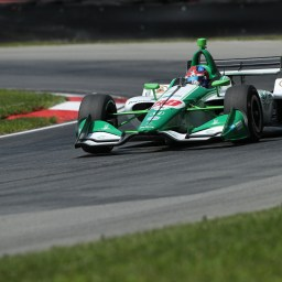 Herta tops second IndyCar practice from Mid-Ohio