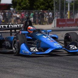Felix Rosenqvist leads final warmup at Toronto