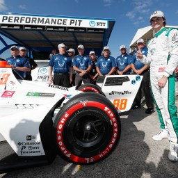 Colton Herta wins pole for Grand Prix of Portland