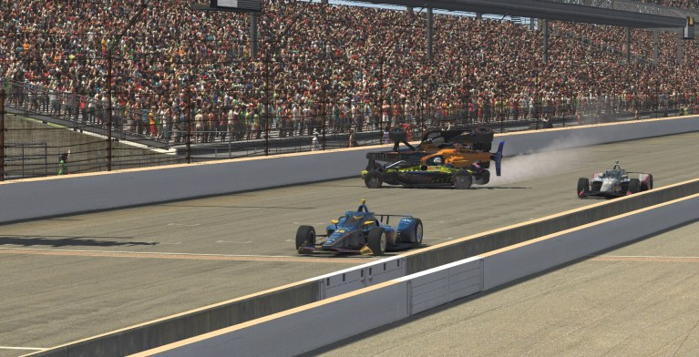 Scott McLaughlin triumphs in wild iRacing INDYCAR finale at Indianapolis