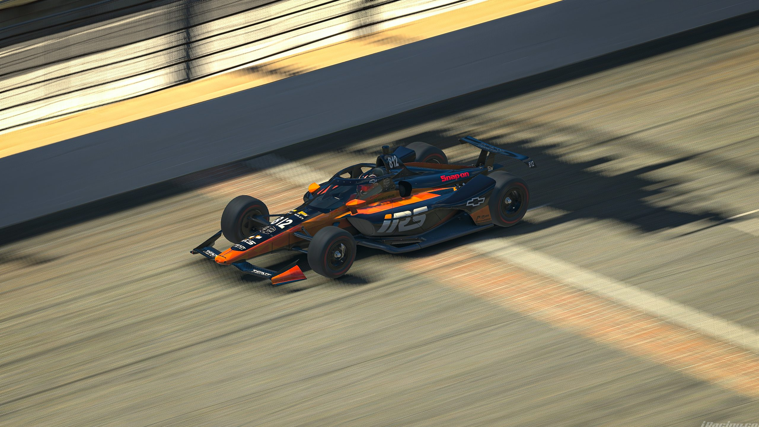 Marco Brasil leads second practice at Open-Wheels 500