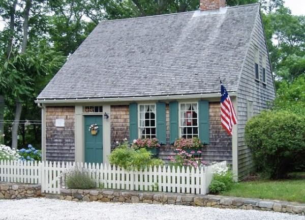 Cape Cod Houses Open Window