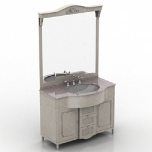Wash Basin With Mirror