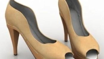 High Heels Shoes 3D Model Free Download 3D Models ID2403