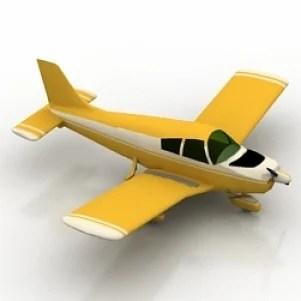 Aeroplane 3D Model