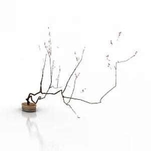 Spring 3D Model