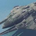 Military Sci-fi Star Cruiser