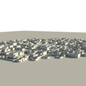 Small Desert City Free 3d Model