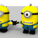 Minions fully Rigged Character