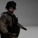 حرف الجندي Bf3
