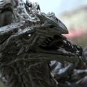 الرسوم المتحركة Alduin Dragon Character
