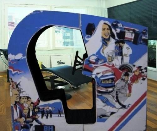 Pole Position Arcade Machine Game