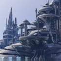 Organodron Scifi City