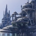 Organodron Scifi City Scene
