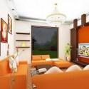 ديكور غرفة المعيشة الداخلية